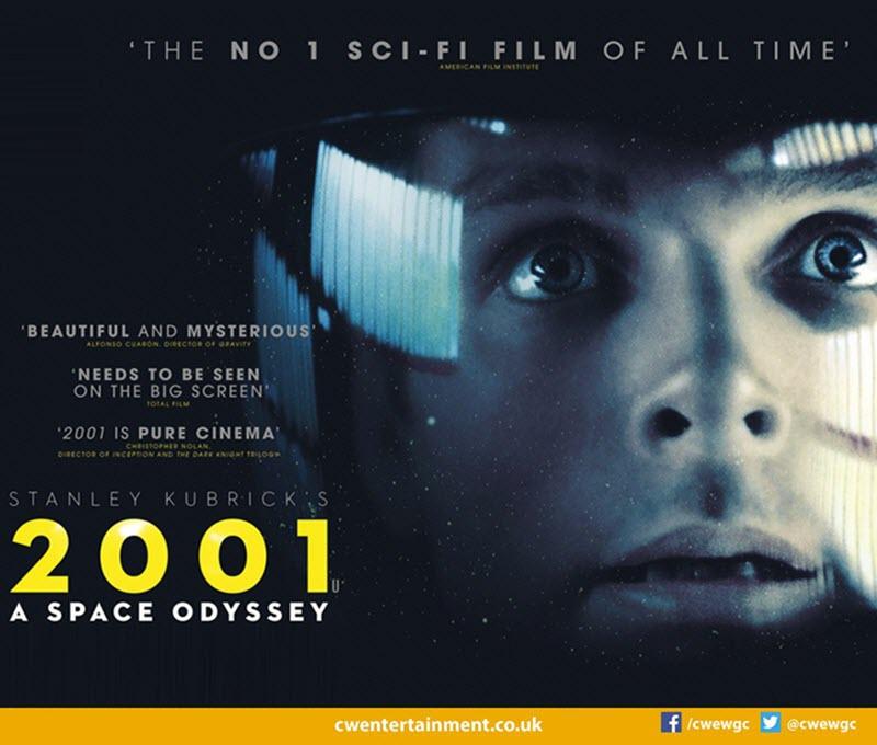 Discover Cinema - 2001: A Space Odyssey(U)