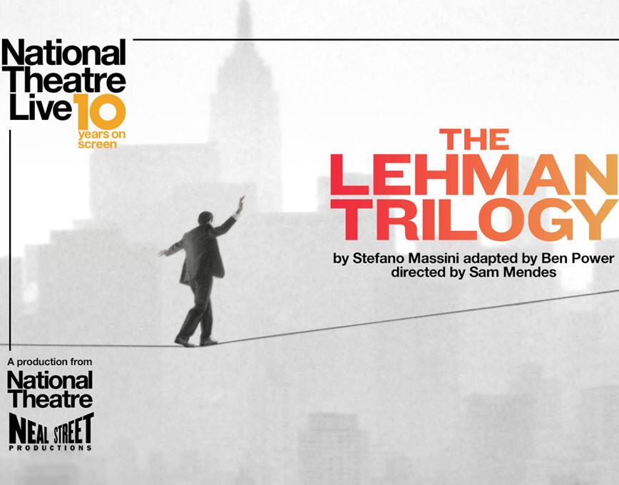NT Live - The Best of 2019: The Lehman Trilogy (12A)