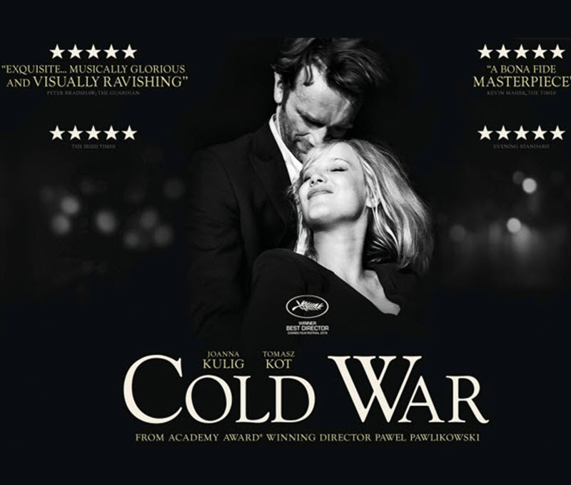WGC Film Society Present: Cold War (15) + AGM
