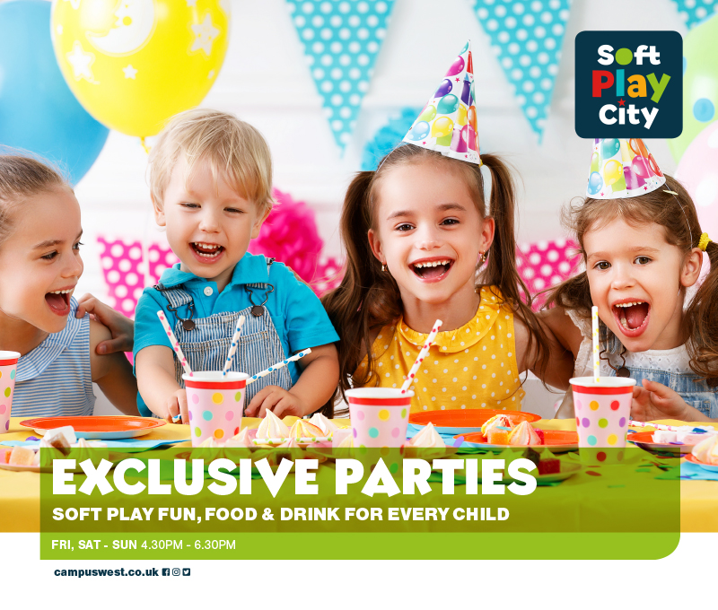 Exclusive Soft Play Party