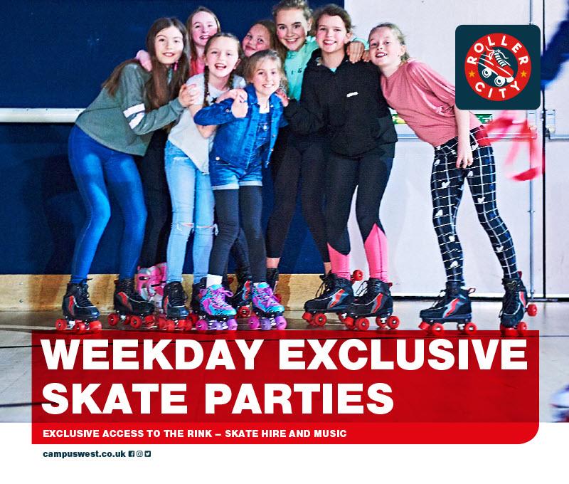 Weekday Exclusive Skate Party