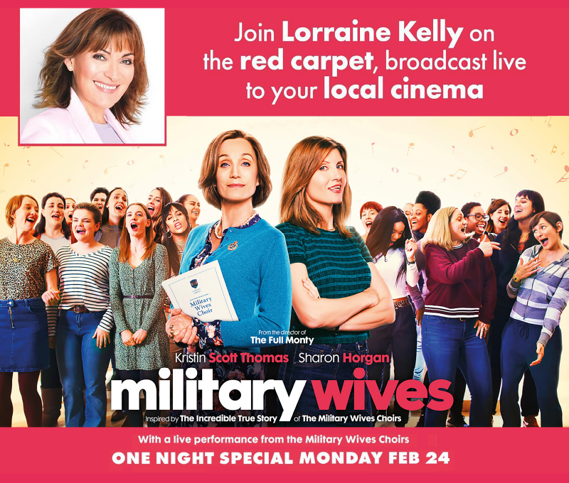 Military Wives Premiere Live From Leicester Square (12A)