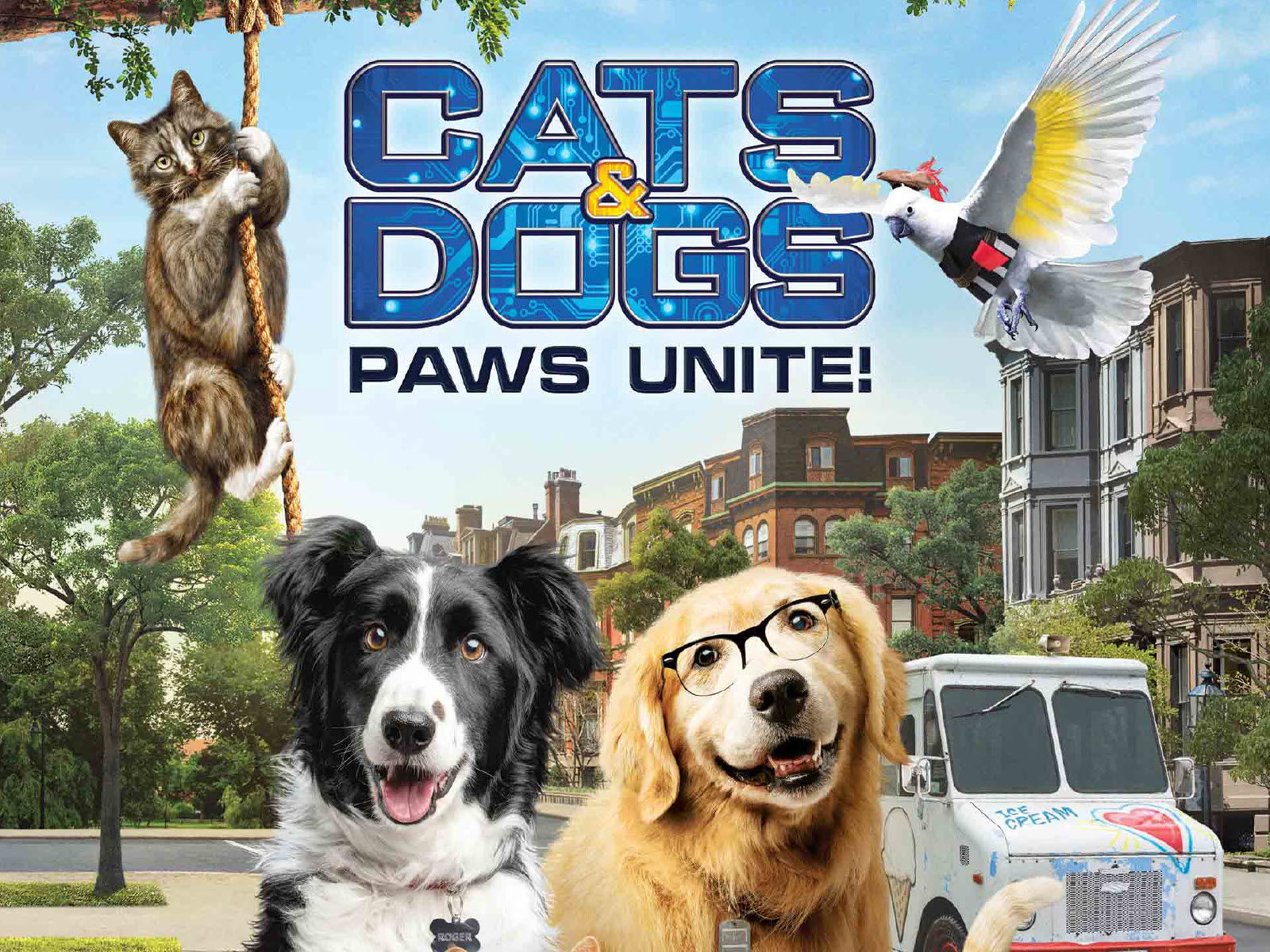 Get ready for the highly anticipated release of Cats & Dogs 3: Paws Unite! The worldwide battle between cats and dogs is BACK ON...