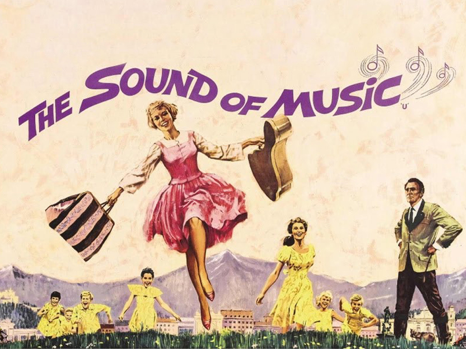 One of the most popular movie musicals of all time, The Sound of Music is based on the true story of the Trapp Family Singers.