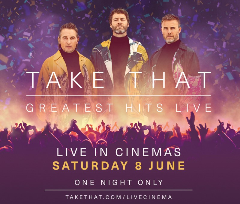 Recorded Live:Take That Greatest Hits Live-2019 (12A)