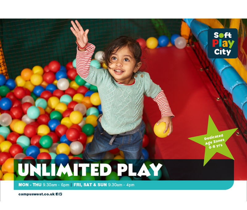 Soft Play City: Unlimited Play Sessions